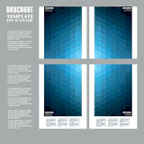 Geometric backgrounds, abstract hexagonal patterns. Brochure, flyer or report for business, templates  Stock Image