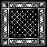 Geometric Bandana Stock Photography