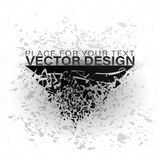 Abstract explosion of black glass. Geometric banners.Abstract explosion of black glass.Square and circle destruction shapes.3d effect of particles.Vector Stock Illustration