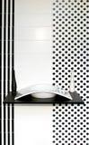 Geometric bathroom Stock Image