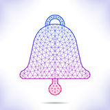 Geometric bell Royalty Free Stock Photos