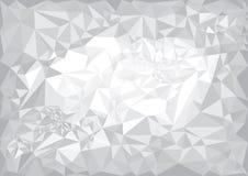 Geometric black and white background. Stock Image