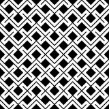 Geometric black and white hipster fashion pillow ethno pattern. Abstract geometric black and white hipster fashion pillow ethno pattern Royalty Free Stock Photos