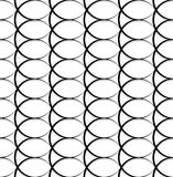 Geometric black and white pattern / background. Seamlessly repea. Table. - Royalty free vector illustration Royalty Free Stock Photos