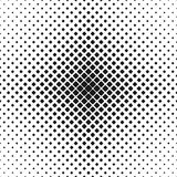 Geometric black and white rounded square pattern background - vector design with diagonal squares Royalty Free Stock Photography
