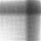 Geometric black and white texture. Mesh, grid pattern of lines stock illustration