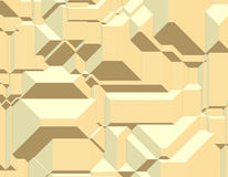 Geometric Blocks Pattern Royalty Free Stock Images