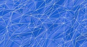 Geometric Blue Background Stock Image