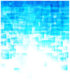 Geometric blue background Stock Photo