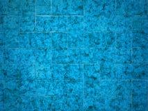 Geometric blue tile pattern texture Stock Photo