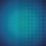 Geometric blue tones background patterns icon Stock Images