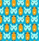 Cartoon pattern Royalty Free Stock Photos