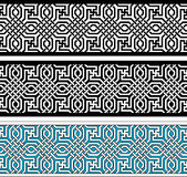 Geometric border Royalty Free Stock Image