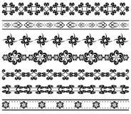 geometric borders for design - vector Royalty Free Stock Photos