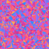 Geometric Bright Abstract Background of Asymmetric Triangles. Stock Photo
