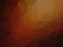 Geometric brown abstract background. Modern geometric brown abstract background Royalty Free Stock Photography