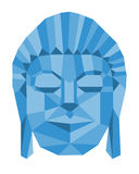 Geometric Buddha Royalty Free Stock Photo