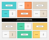Geometric Business Cards 003 Stock Photo