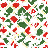 Geometric Camouflage Texture Pattern Stock Image