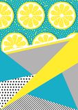 Vector abstract background. Geometric card vector illustration. Banner postcard art design. Background geometric memphis. Creative design combination of geometry vector illustration