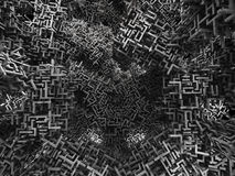 Geometric chaos 1 Stock Photography