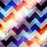 Geometric chevron pattern. Royalty Free Stock Images