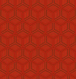 Geometric chinese seamless pattern Royalty Free Stock Images