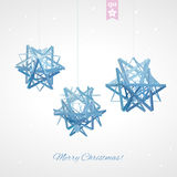 Geometric christmas ball. Holidays Background Stock Photo
