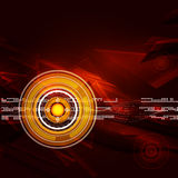 Geometric circle abstract background Royalty Free Stock Photo