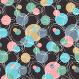 Geometric circle background Royalty Free Stock Photos