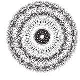 Geometric circle element . Mandala for decoration holiday cards, background and sites. Kaleidoscope, medallion, yoga Stock Images