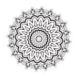 Geometric circle element . Mandala for decoration holiday cards, background and sites. Kaleidoscope, medallion, yoga Royalty Free Stock Image