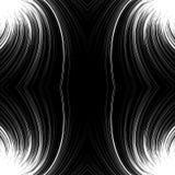Geometric circle element of radial lines. Bursting lines merging Stock Images