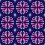 Geometric Circle Flower Pattern Stock Photos