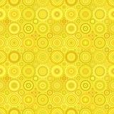Circle mosaic pattern background - seamless design Royalty Free Stock Photo