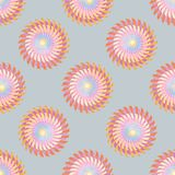 Geometric circle ornamental style Seamless vector pattern. 10 eps royalty free stock photo
