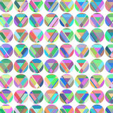 Geometric circles colorful simple background,  image Royalty Free Stock Image