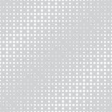 Geometric circles gradient halftone seamless black and white pattern. Background Stock Photography