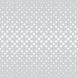 Geometric circles gradient halftone seamless subtle pattern. Background vector illustration