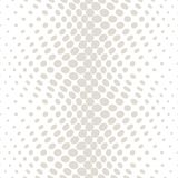 Geometric circles gradient halftone seamless subtle pattern. Background Stock Image