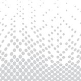Geometric circles gradient halftone seamless subtle pattern. Background Royalty Free Stock Image
