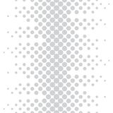 Geometric circles gradient halftone seamless subtle pattern. Background Royalty Free Stock Images