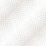 Geometric circles gradient halftone seamless subtle pattern. Background Royalty Free Stock Photos