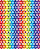 Geometric circles seamless colorful pattern background. Geometric circles seamless colorful pattern texture background Royalty Free Stock Photo