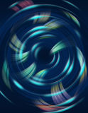 Geometric circular pattern. Abstract art illustration Stock Photos