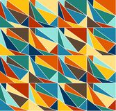 Geometric color background pattern Royalty Free Stock Photography
