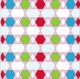 Geometric color beautiful Stock Image
