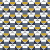 Geometric color blocked pattern Stock Photos