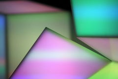 Geometric colorful abstract background. A colorful lights abstract background Stock Image