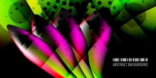 Geometric colorful abstract 3D like background. Abstract colorful background graphics template with blended multiple 3D like objects vector illustration